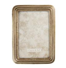 CLEEF.2F0766 Képkeret műanyag, 13x18/10x15cm, arany színű kerettel