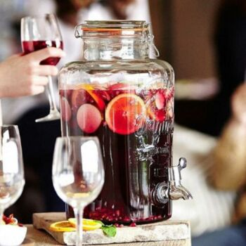 Kilner® limonádé adagoló üveg 5L