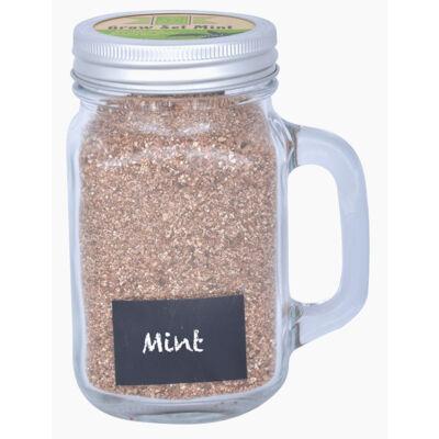 Fűszernövény termesztő bögre, menta