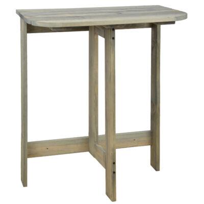 Összecsukható félkör asztal