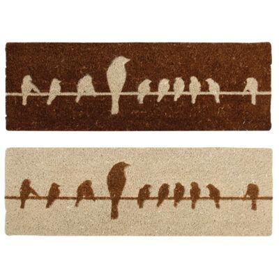 Lábtörlő, kókuszrost, 75 x 25 cm