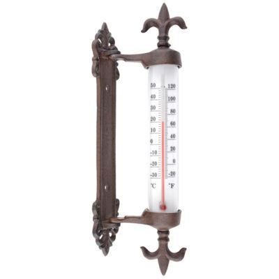 Falra rögzíthető hőmérő