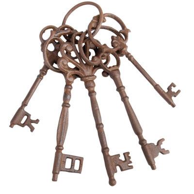 Kulcskarika dekoráció
