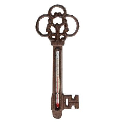 Kulcs alakú öntöttvas hőmérő