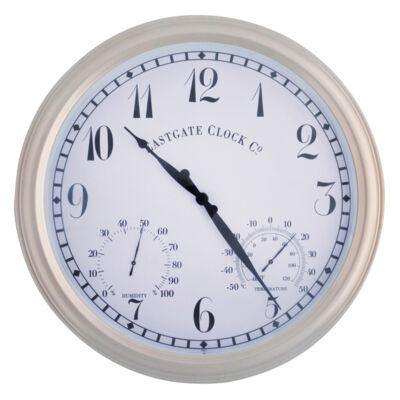 Óra hőmérővel, páratartalom mérővel