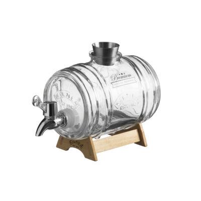 Kilner® adagoló üveghordó szett 1L