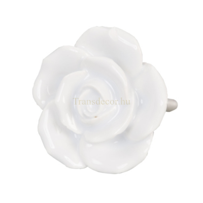 Ajtófogantyú Kerámia Rózsa Formájú