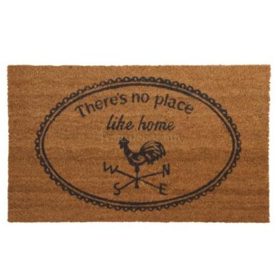 "Clayre & Eef MC082 Lábtörlő 75x45cm, ""There's no place like home"""