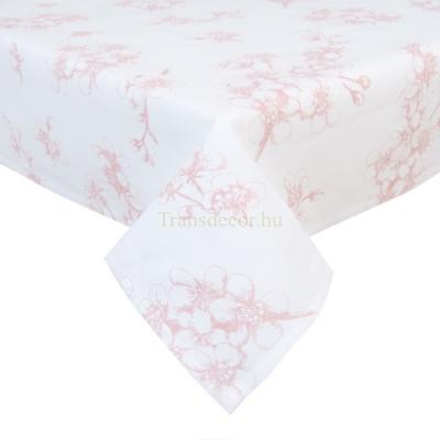 Clayre & Eef LBF01 Terítő 100x100cm, Lovely Blossom Flowers