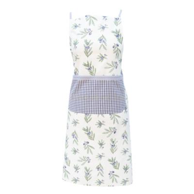 Kötény 70x85cm, pamut, Olive Garden, blue
