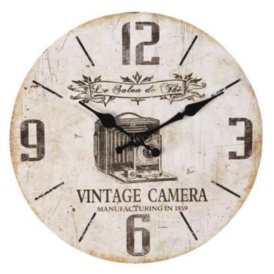 CLEEF.6KL0601 Fa falióra 30x3cm,Vintage camera