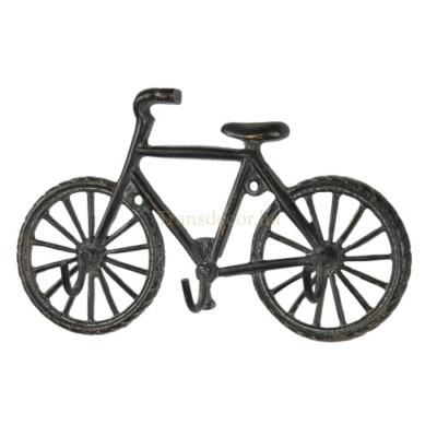 Bicikli alakú öntöttvas falifogas