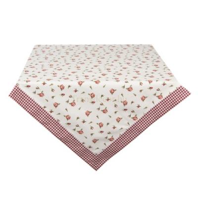 Asztalterítő 100x100cm, pamut, Romantic Roses