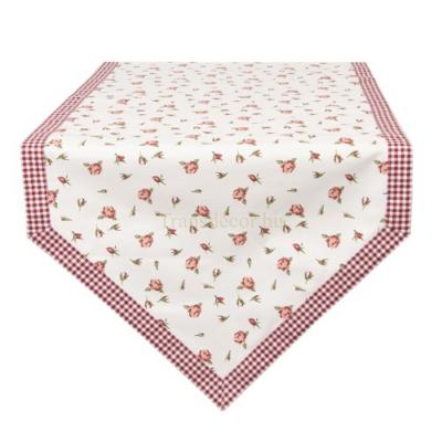 Asztali futó 50x160cm, pamut, Romantic Roses