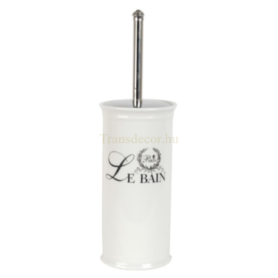 """Clayre & Eef 60117 Fürdőszoba toalett kefe tartó, 11,5x11,5x24cm, """"Le Bain"""""""